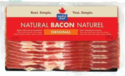 MAPLE LEAF OR SCHNEIDERS BACON