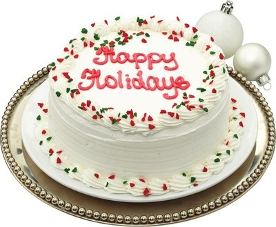 "FRONT STREET BAKERY 7"" HOLIDAY THEME CAKES"
