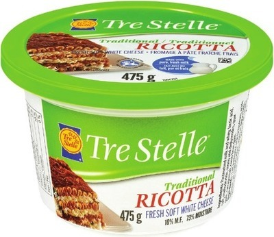 TRE STELLE BOCCONCINI OR RICOTTA CHEESE