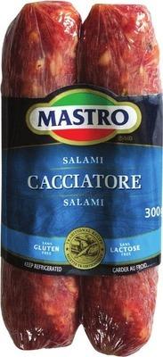 MASTRO HOT OR MILD CACCIATORE SALAMI