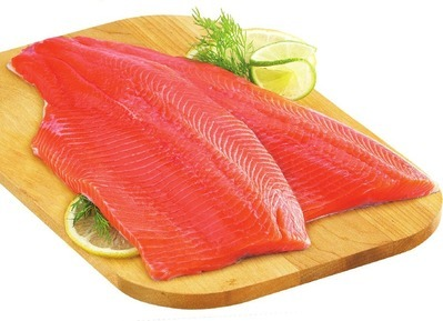 FRESH ONTARIO RAINBOW TROUT FILLETS FAMILY PACK