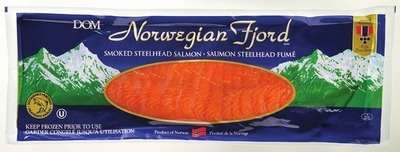 NORWEGIAN FJORD SMOKED STEELHEAD SALMON