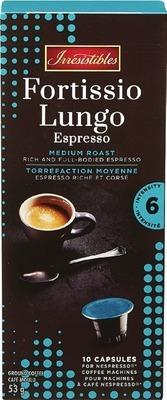 IRRESISTIBLES NESPRESSO COFFEE CAPSULES