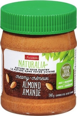 IRRESISTIBLES NATURALIA ALMOND BUTTER