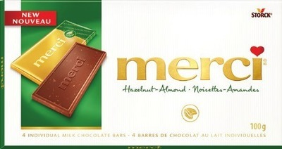 MERCI CHOCOLATE BAR