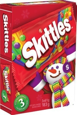 SKITTLES OR HUBBA BUBBA CHRISTMAS BOOK