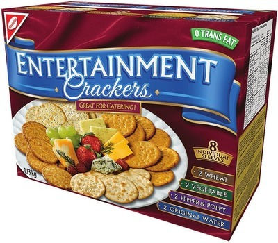CHRISTIE ENTERTAINMENT CRACKERS