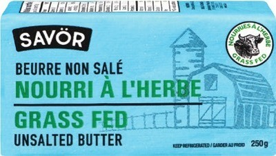 SAVOR GRASS FED BUTTER
