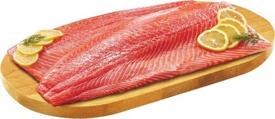 FRESH COHO SALMON OR ICELANDIC COD OR HADDOCK FILLETS