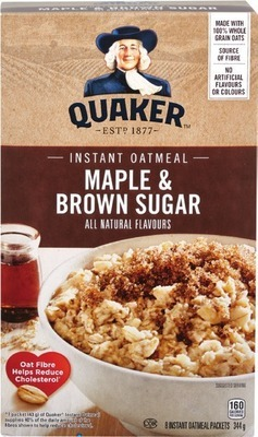 QUAKER OATMEAL, NATURE VALLEY OR QUAKER BARS OR BETTY CROCKER FRUIT SNACKS