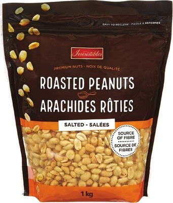 IRRESISTIBLES ROASTED PEANUTS