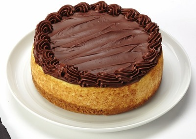 FRONT STREET BAKERY NUTELLA TOP CHEESECAKE
