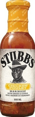 STUBB'S BBQ SAUCE OR MARINADE