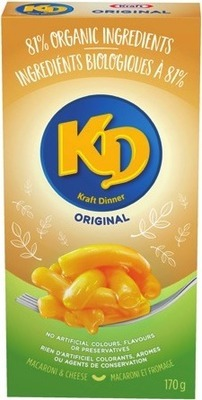 KRAFT DINNER ORGANIC MAC & CHEESE