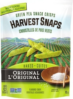SENSIBLE PORTIONS, KETTLE OR HARVEST SNAPS PEAS SNACKS