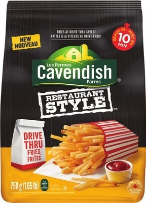 CAVENDISH FARMS FRENCH FRIES, SWANSON, SMART ONES, IRRESISTIBLES MEALS, PILLSBURY PIZZA POPS OR CHEEMO PEROGIES
