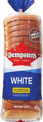 DEMPSTER'S WHITE OR WHOLE WHEAT BREAD OR DEMPSTER'S BAGELS