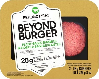 PLANT BASED BEYOND BURGER