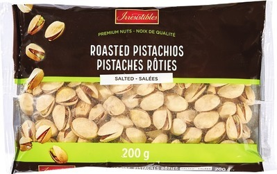 IRRESISTIBLES SALTED ROASTED PISTACHIOS
