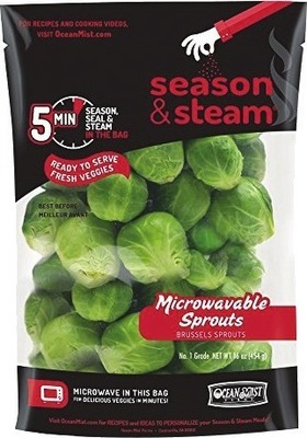 OCEAN MIST WHOLE BRUSSELS SPROUTS