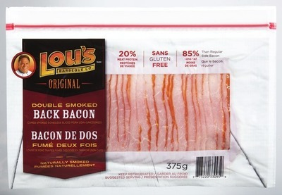LOU'S CURED SMOKED BONELESS PORK LOIN