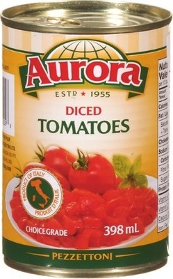 AURORA BOULLION, DICED TOMATOES OR SEA SALT