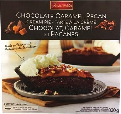 IRRESISTIBLES CHOCOLATE PECAN PIE