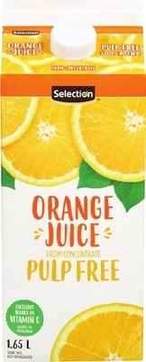 SELECTION ORANGE JUICE