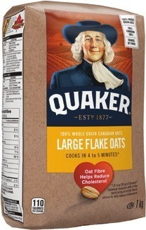 QUAKER OATS OR INSTANT OATMEAL