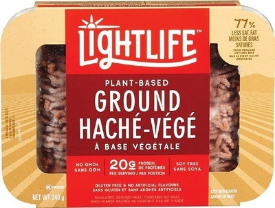 LIGHTLIFE OR BEYOND MEAT PLANT-BASED GROUND OR BURGERS