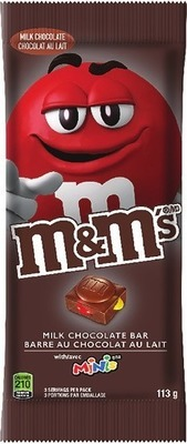 MARS M&M'S CHOCOLATE BAR