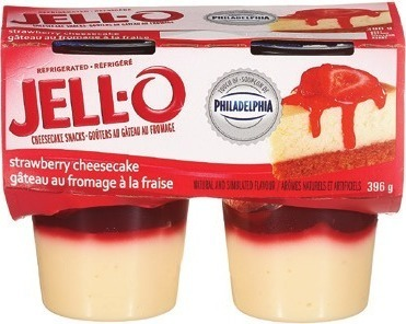 JELL-O JELLY OR PUDDING SNACKS