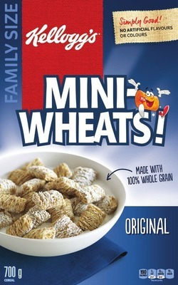 KELLOGG'S MINI-WHEATS CEREAL
