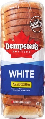 "DEMPSTER'S WHITE OR WHOLE WHEAT BREAD, 7"" TORTILLAS, HOT DOG OR HAMBURGER BUNS"
