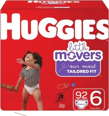 HUGGIES OR PAMPERS DIAPERS AND ENFAMIL BABY MILK