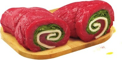 PLATINUM GRILL ANGUS INSIDE ROUND LONDON BROIL, PINWHEELS, ALOUETTES OR STUFFED CUTLETS