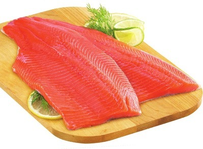 FRESH ONTARIO RAINBOW TROUT OR TILAPIA FILLETS FAMILY PACK