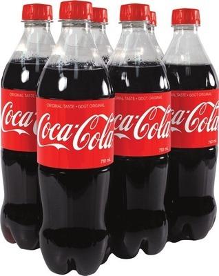 COCA-COLA OR PEPSI SOFT DRINKS