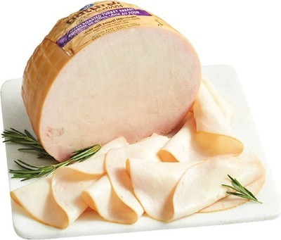 MAPLE LEAF NATURAL SELECTIONS BLACK FOREST HAM OR ROASTED TURKEY BREAST