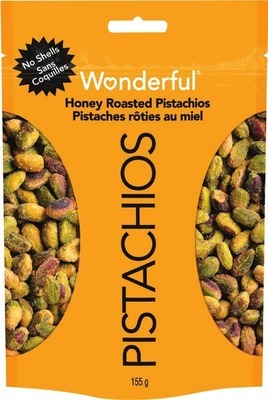 WONDERFUL SHELLED PISTACHIOS