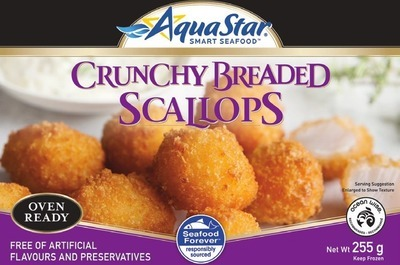 AQUA STAR BREADED SCALLOPS