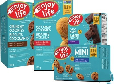 ENJOY LIFE SNACKS SELECTED SNACKS