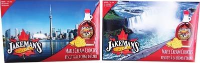 JAKEMAN'S MAPLE COOKIES
